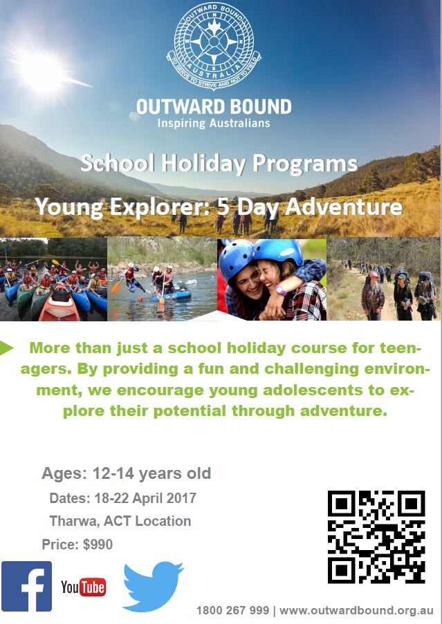 Outward Bound March 2017 Programs
