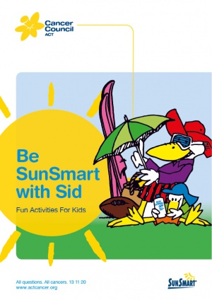 Be SunSmart with Sid FOR WEB 01